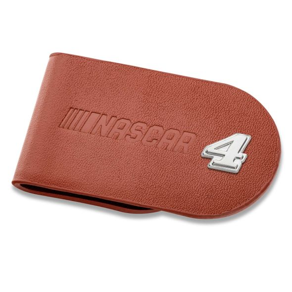 Kevin Harvick #4 Leather Money Clip