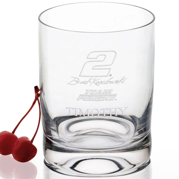 Brad Keselowski Glass Tumbler - Image 2