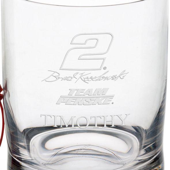 Brad Keselowski Glass Tumbler - Image 3