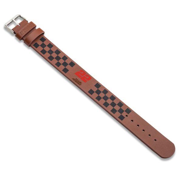 Joey Logano Leather Cuff Bracelet with #22