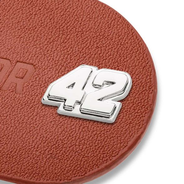 Kyle Larson #42 Leather Money Clip - Image 2