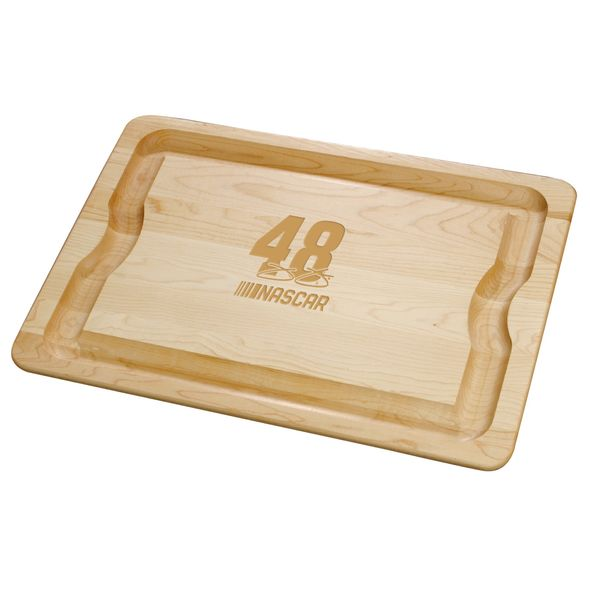 Jimmie Johnson Maple Cutting Board