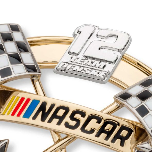 Ryan Blaney Brooch Pin with #12 - Image 2