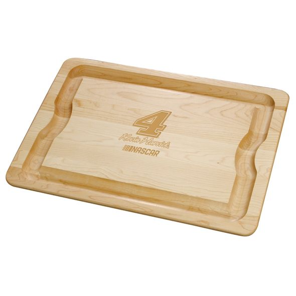 Kevin Harvick Maple Cutting Board