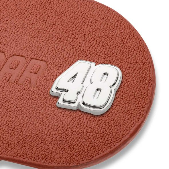 Jimmie Johnson #48 Leather Money Clip - Image 2