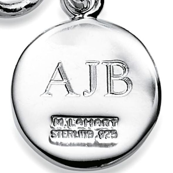 NASCAR Sterling Silver Necklace and Charm with Enamel - Image 3